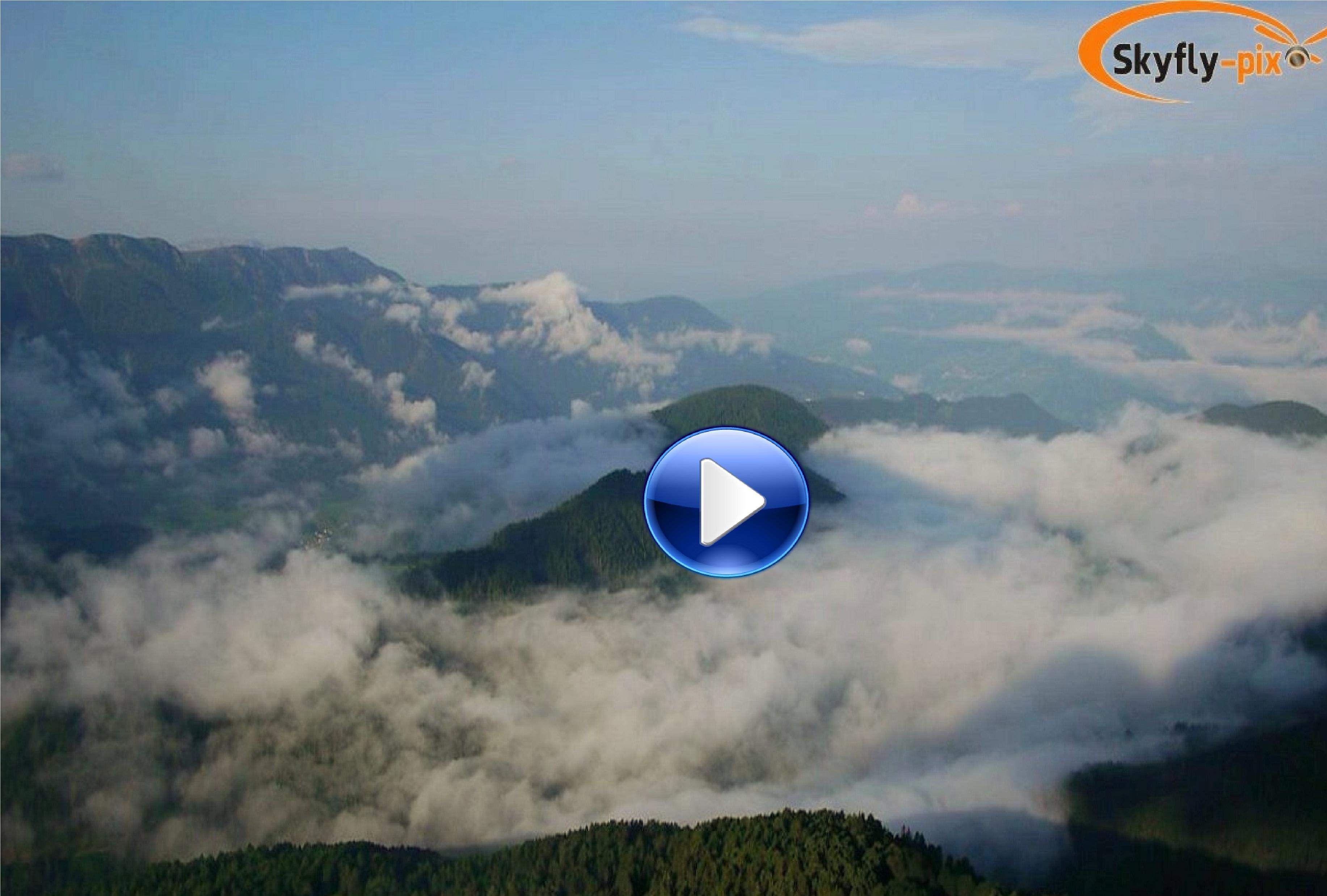 Rundflug in den Dolomiten