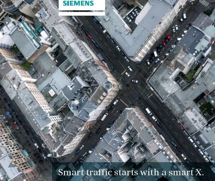 Luftaufnahme für Siemens Sitraffic-SX Flyer
