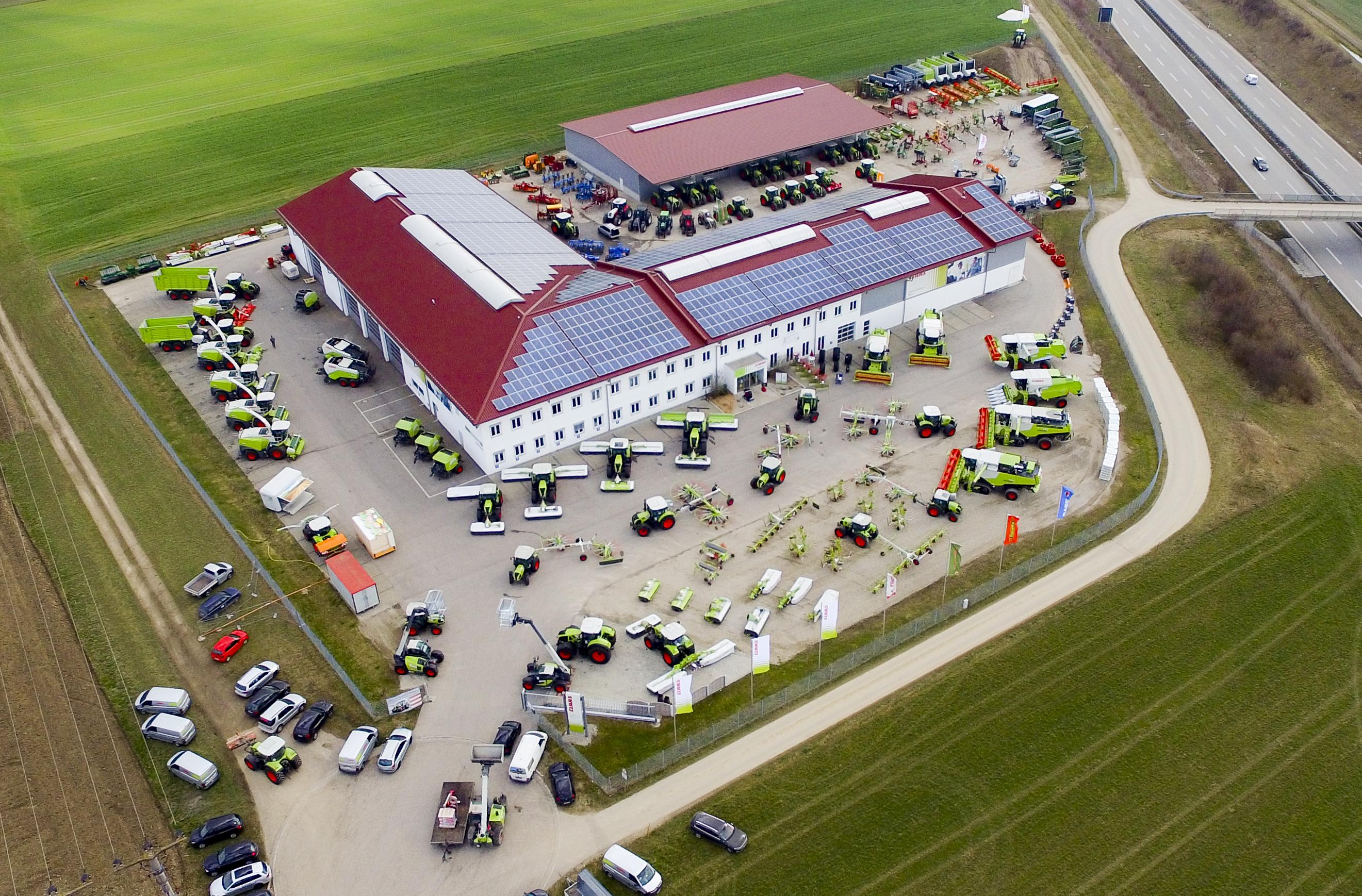 Landwirtschaftsausstellung bei der Firma CLAAS Südostbayern