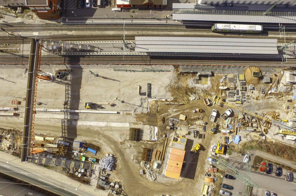 Baustellendokumentation auf der Bahnstrecke Forchheim Baiersdorf