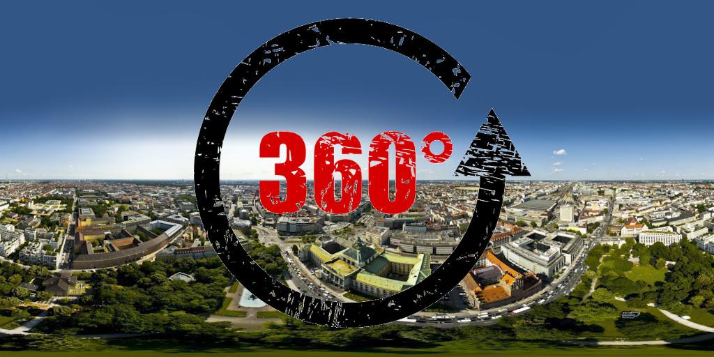 360° Luftpanoramatour München